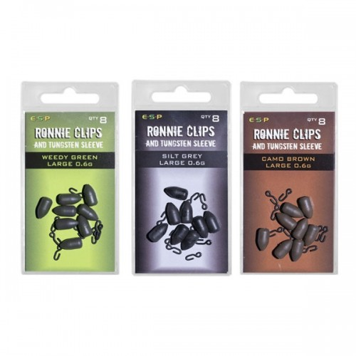 ESP Ronnie Clips and Tungsten Sleeve