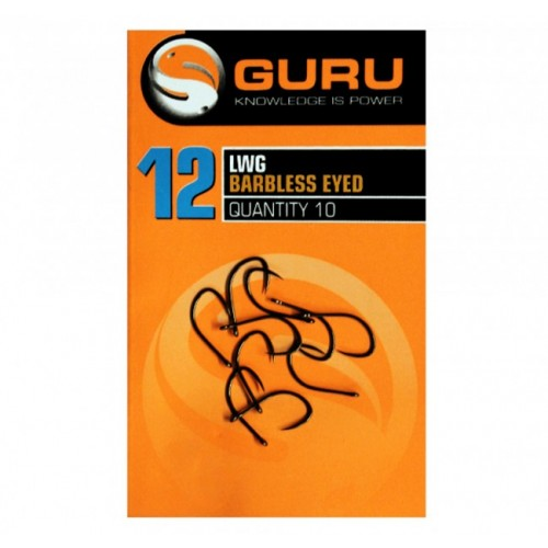 Guru LWG Barbless Eyed Hook