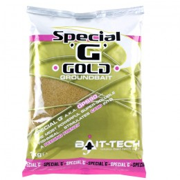 Bait-Tech Special 'G' Groundbait - Gold