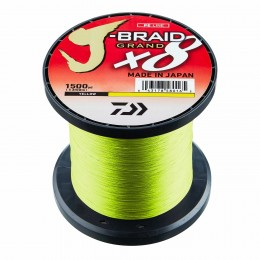Daiwa J-Braid Grand X8 Chatreuse