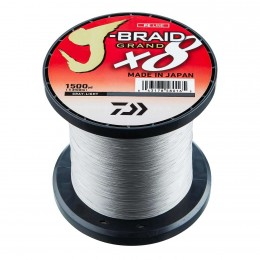 Daiwa J-Braid Grand X8 Gray-light
