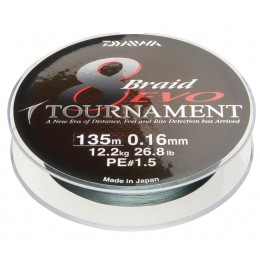 Daiwa Gevlochten Lijn - Tournament 8 Braid EVO