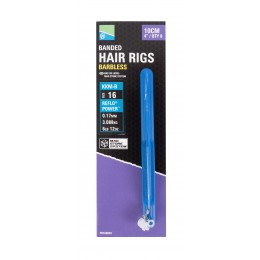 "Preston Mag Store System - Hair Rigs Rapid Banded 4""-10cm."
